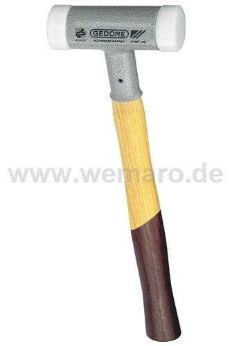 Hammer, rückschlagfrei, 25 mm