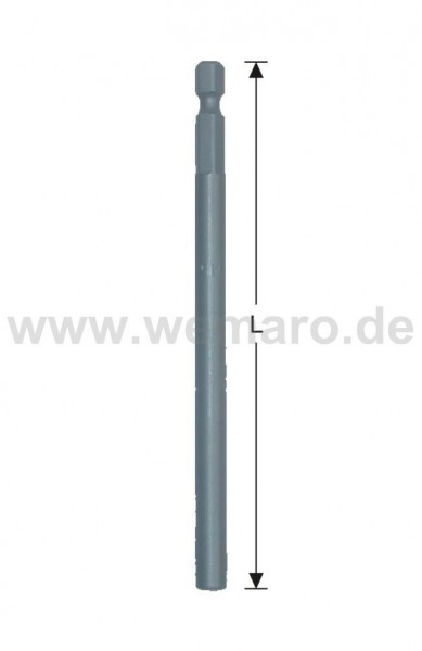 Bit-Verlängerung UNF10/32, L-162 mm