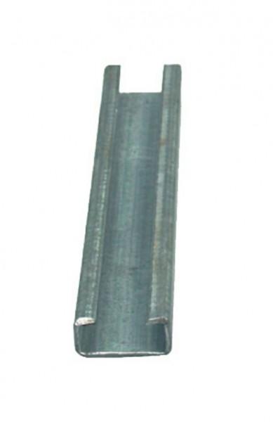 C-Profilschiene 2000 mm Stahl, verzinkt, einzeln