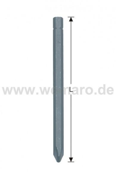 "Schrauberbit 1/4"" C 6.3, PZ-2 L = 50 mm"