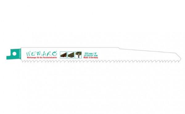Säbelsägeblätter 205/225 mm variable Verzahnung VE=10 Stück für alle Holzarten mit Metal