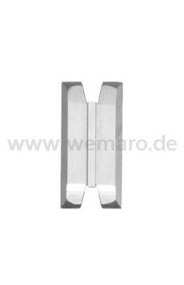 Sichtflächen-Abstechmesser B=19, Nutbr.=0,0, T=0,0 mm flach