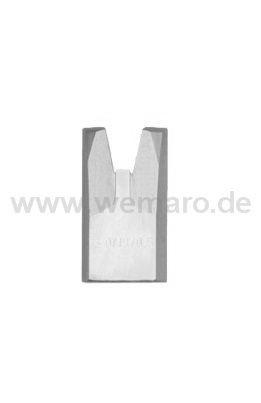 Sichtflächen-Abstechmesser B-19 mm, Nutbr. 2,5 mm, T=0,5 mm