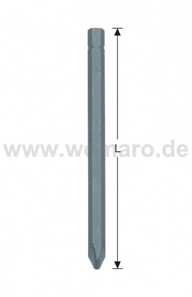 "Schrauber-Bit 1/4"" C 6.3, TORX30 L = 25 mm"