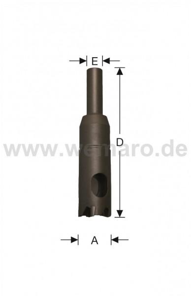 Lochsäge HM-bestückt Z-5 d= 20 mm