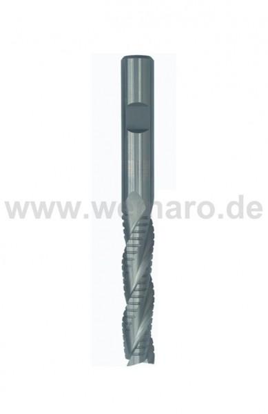 Bohrnutenfräser HSS-E 12x53/110 mm S-12 Z-3 Schruppverzahnung
