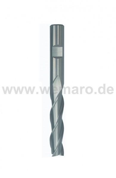 Bohrnutenfräser HSS-E 12x53/110 mm S-12 Z-4 Schlichtverzahnung